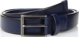 Kenneth Cole Reaction Mens Comfort Stretch Belt, navy, 30