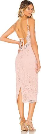 NBD Charlene Midi Dress in Pink