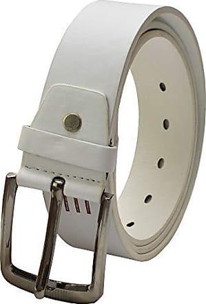 Herren Gürtel Weiß Automatik Breite 3 cm 105 110 115 120 125  cm Weiss