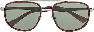 Persol Óculos de sol oversized - Cinza