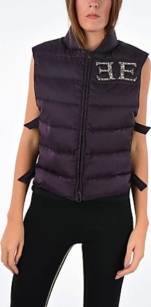 Ermanno Scervino Sleeveless Down Jacket with Jewel Details size 42