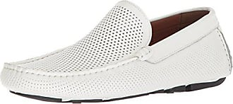 Kenneth Cole Reaction Mens Lyon Driver Loafer White 11 M US