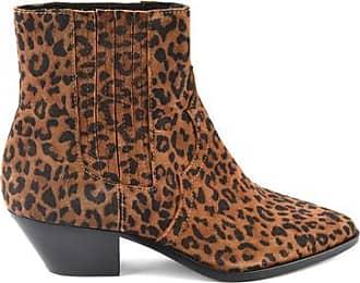 Ash Zukünftige Wildlederstiefel mit Leopardenmuster - 37