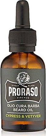 Proraso Single Blade Beard Oil, Cypress & Vetiver, 1 fl.Oz
