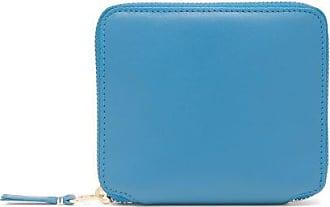 Comme Des Garçons Comme Des Garçons Wallet - Zip-around Leather Wallet - Womens - Blue