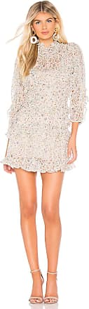 Rebecca Taylor Vivianna Ruffle Dress in White