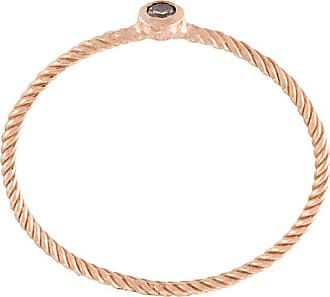 Wouters & Hendrix single champagne diamond ring - PINK