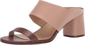 Naturalizer womens Abbey Slides Beige Size: 7 UK