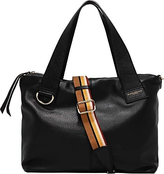 Gianni Chiarini Gianni CHIARINI Womans shoulder bag bottalata leather, black, one compartment closed with zip, adjustable and removable shoulder strap. BS 7252. BIOSA
