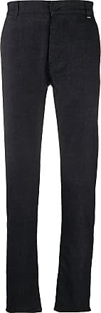 Karl Lagerfeld casual tweed trousers - Azul