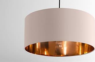MADE.COM Oro Lampenschirm (45 cm), Rosa und Kupfer