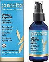 Pura d'Or 100% Organic Argan Oil