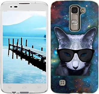 Mundaze Mundaze Galaxy Cat Phone Case Cover for LG Power Risio Destiny