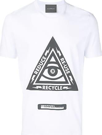 John Richmond Camiseta com estampa 3Rs - Branco
