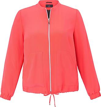 Emilia Lay Blouson jacket long sleeves Emilia Lay orange