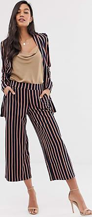 Ichi Gestreifter Anzug im Culotte-Design-Mehrfarbig