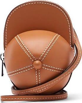 J.W.Anderson Nano Cap Leather Bag - Womens - Tan