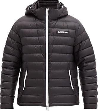Burberry Barnet Down-filled Shell Hooded Jacket - Mens - Black