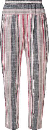Xirena striped straight leg trousers - Multicolour