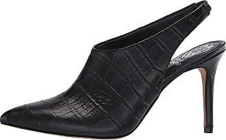 Vince Camuto Womens amnedra Lizard Pointed Toe Slingback, Black 01, Size 5.0 US US
