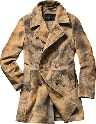 nihiug Man Winter Mantel Herren Winterjacke Outwear Wintermantel Mens Coat Chaqueta Long Coat Slim Trench,Black XXXL