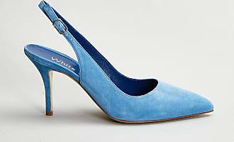 Reposi Calzature WHITE D. Scarpa in pelle azzurra