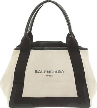 Balenciaga gebraucht - Balenciaga-Handtasche aus Canvas in Beige - Damen - Canvas