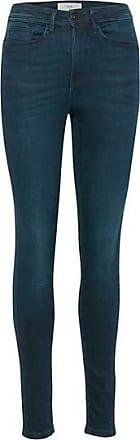 Ichi Paloma Celia - Dunkelblaue gewaschene Jeans - 25 - Blue