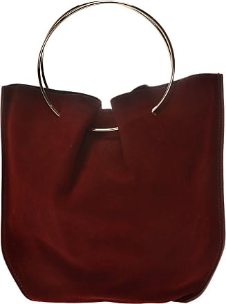 The Row TR1 Suede Handbag Womens Beige