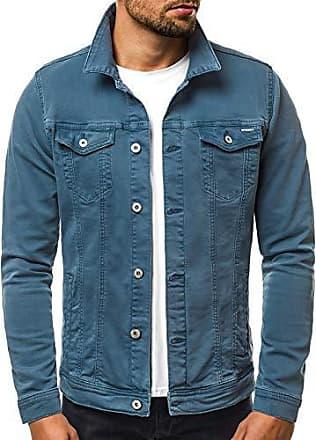 35e839ca4b0b OZONEE Herren Jeansjacke Übergangsjacke Jacke Denim Sweats Sweatjacke  Frühlingsjacke Jeans Jacke Modern Sportswear Casual Slim-