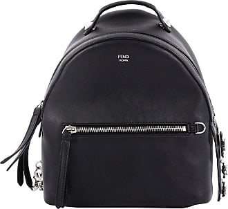 6041e0ac665d Fendi By The Way Backpack Leather With Crystals Mini