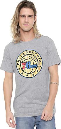 NBA Camiseta NBA Philadelphia 76ers Cinza