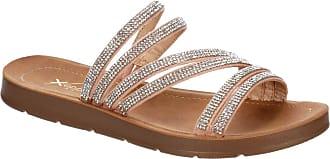 Xappeal Womens Scarlett - Casual Comfort Slip On Flat Slide Sandal Shoe Pink Size: 9 UK