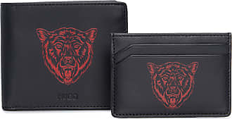 HUGO BOSS CARTEIRA MASCULINA TIGER - PRETO