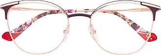 Etnia Barcelona Armação de óculos redonda Vesoul - Dourado