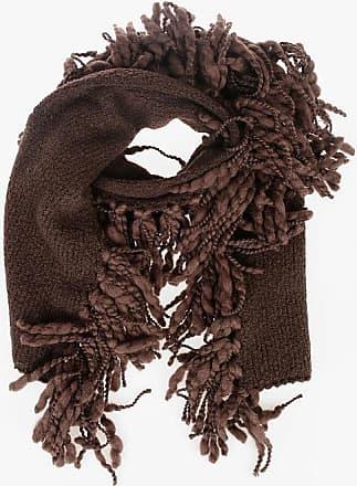 Bottega Veneta Wool Blend Fringed Scarf size Unica