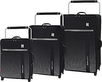 IT Luggage Worlds Lightest Vitalize 2-Wheel, Black