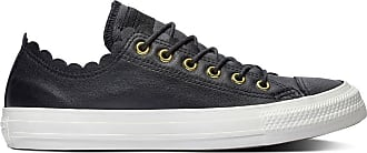 ef0604afc2607 Converse Baskets basses CTAS Ox Cuir Frilly Thrills - CONVERSE - Noir