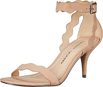 Chinese Laundry Womens Rubie Dress Sandal, Dark Nude Suede, 9.5 M US