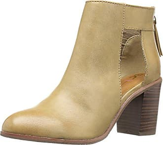 BC Footwear Womens Combust Ankle Bootie, Sand, 9.5 M US