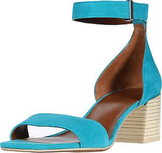 Franco Sarto Womens MERRYL Sandal, Teal, 4.5 UK