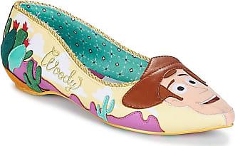Irregular Choice Disney Toy Story Round up Gang Pink Yellow Flat Shoes Size 5