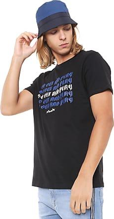 Doc Dog Camiseta Doc Dog Manga Curta Lettering Preta
