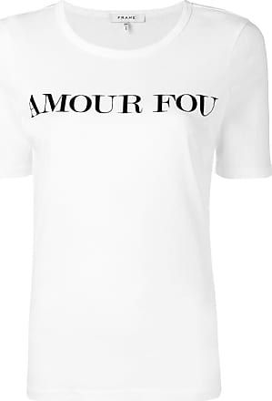Frame Denim Camiseta Amour Fou - Branco