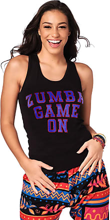Zumba Womens Unisex Workout Tank Top with Fashion Print Tank Top