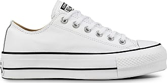 Converse Chuck Taylor ALL STAR LIFT OX CLEAN LEATHER DONNA 9a403061727