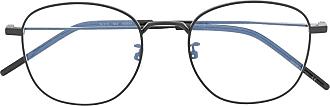 Saint Laurent Eyewear Óculos de sol redondo - Preto