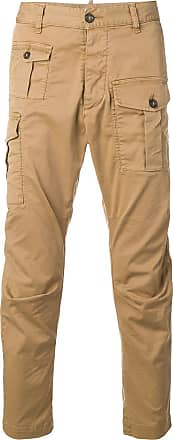 Dsquared2 patch pockets cargo trousers - Brown