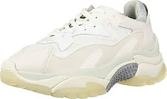 Ash Addict Bis Damen Off White Grey Leder Sneaker Mode 39 EU