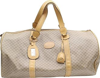 a56cb9b73cb Gucci Boston Extra Large Monogram Duffle 868875 Brown Coated Canvas Weekend  trav
